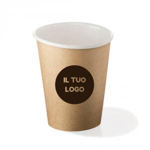 Packaging imballaggio contenitori alimentari per bevande Beverage bicchiere di carta personalizzato Roma Italia