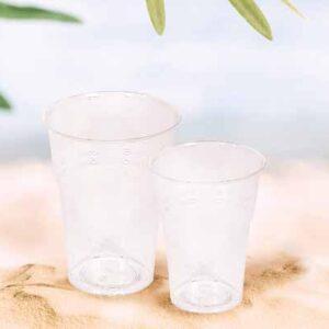 Bicchiere Krystal Bio compostabile biodegradabile ecologico