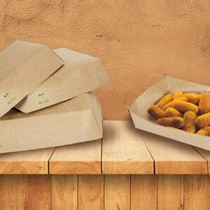 Packaging imballaggio contenitori alimentari fast food contenitori carta alimenti ecologico biologico riciclabile compostabile Roma Italia